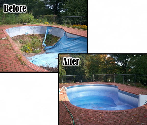 Pool renovations 203 791 0307 l j pools for Pool renovations